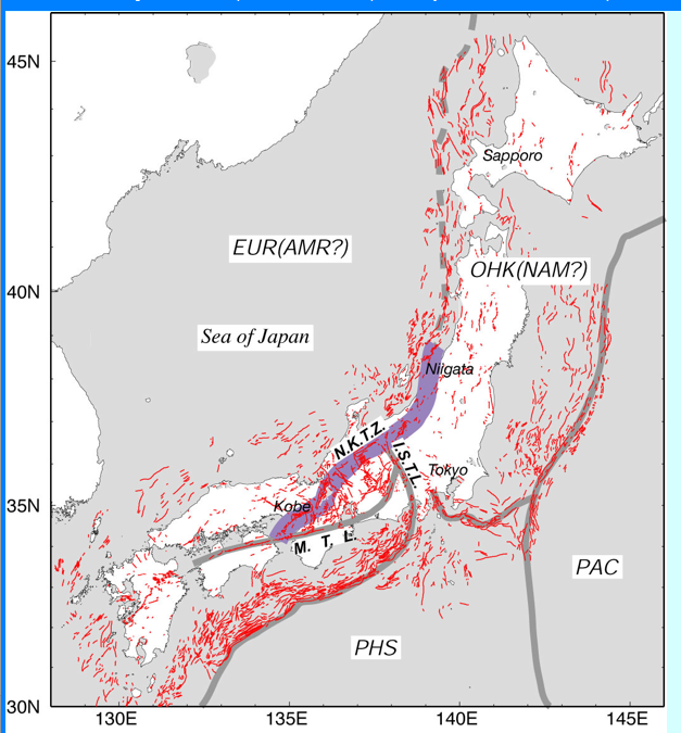 Viable Opposition Explaining Japans Earthquake - Japan earthquake zone map