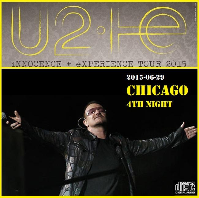 U2 - United Center, Chicago, 29 June 2015 (CD & Covers) - Guitars101