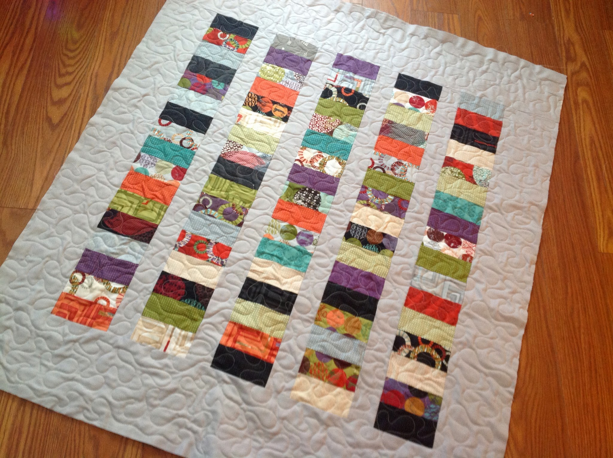 to how make charm pack baby idea quilt