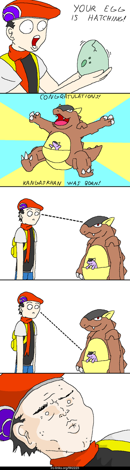Kangaskhan pokemon comic
