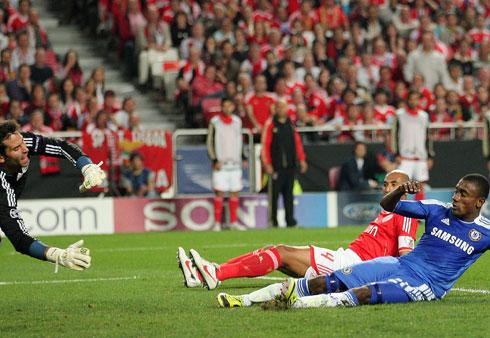 Salomon Kalou, Benfica - Chelsea