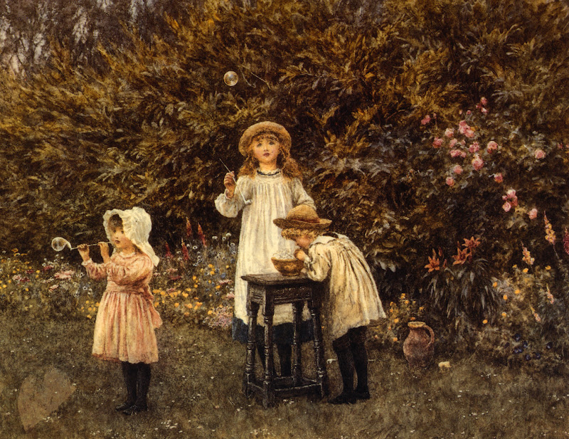Helen Allingham - Bubbles