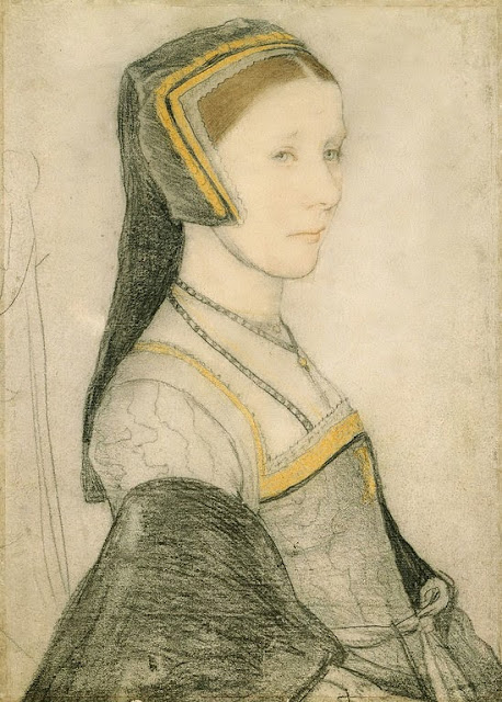 Hans Holbein the Younger - Anne Cresacre