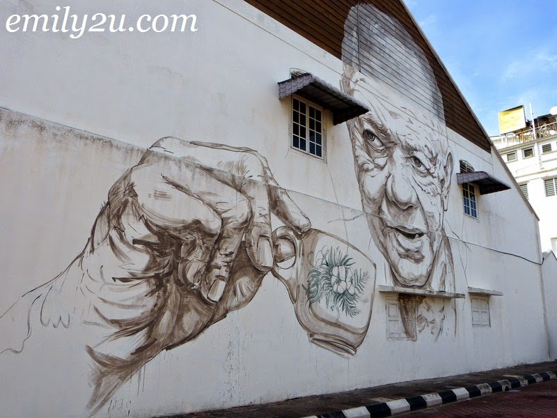 Ernest Zacharevic Wall Art in Ipoh