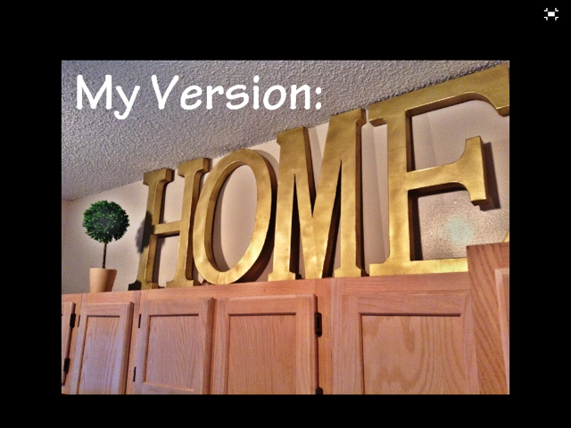 4 paper mch letters from michaels krylon gold spray paint clear gloss finishing spray drop cloth