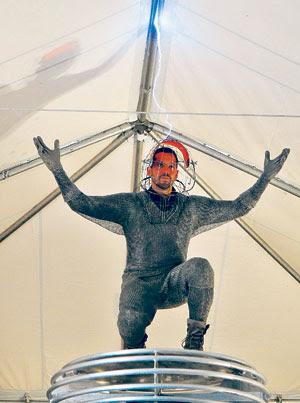 david blaine latest stunt