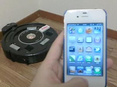 【動画】Siriに「ルンバで掃除して」なんてお願いも可能です。そう、iPhoneならね