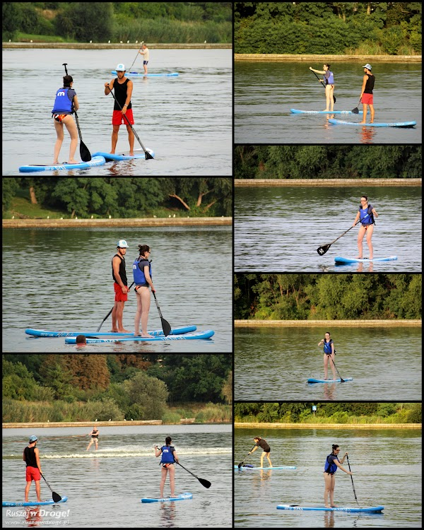 Stand up paddle - trudna sztuka stania na desce