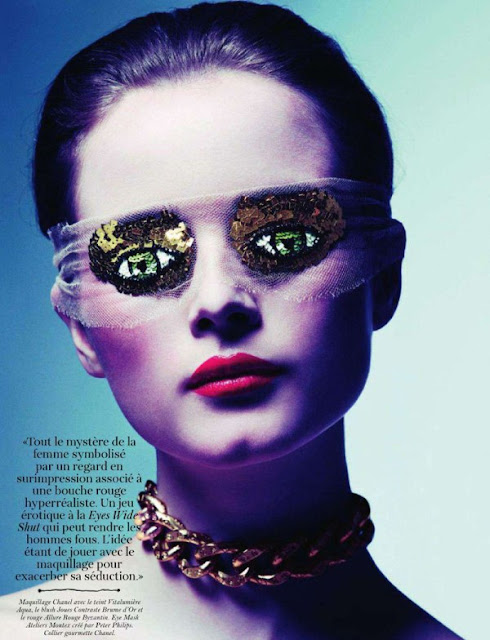 French Vogue Beauty Editorial