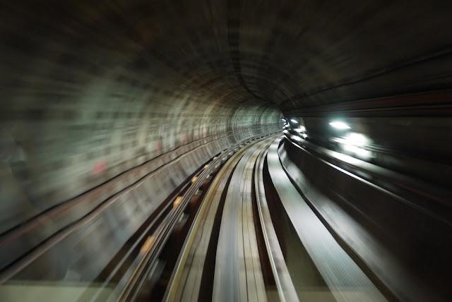 underground tunnel for Kuala Lumpur light rail trains