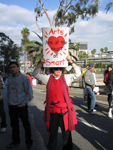 LAUSD Candidate Robert D. Skeels supported the struggle to save LAUSD K-6 Arts