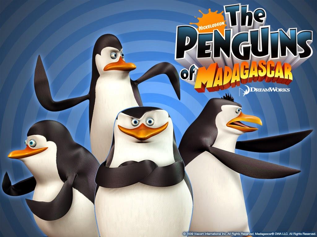 Οι Πιγκουίνοι της Μαδαγασκάρης (The Penguins of Madagascar) Wallpaper
