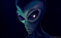 πράσινος εξωγήινος,ανθρωποειδές,μαύρα μάτια,green alien,humanoid,black eyes