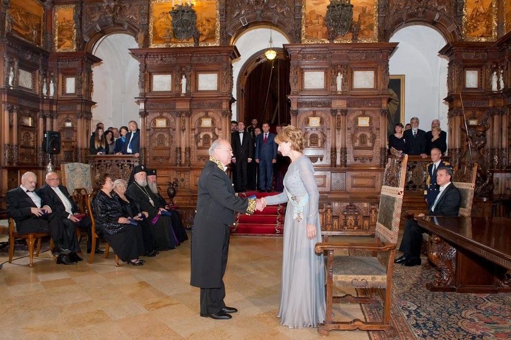 Ceremonie regală și dineu la Castelul Peleș, de ziua Regelui Mihai I