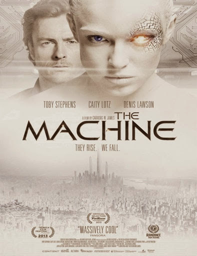 Poster de The Machine