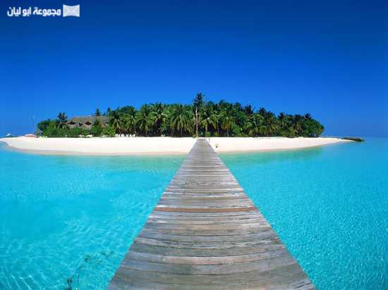 عجائب الدنيا السبع الطبيعية Maldives11