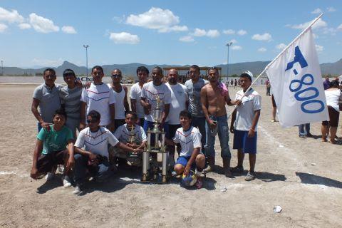 Equipo T-800 del torneo de segunda fuerza de la Liga Municipal de Futbol Soccer