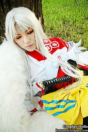 inuyasha cosplay - sesshomaru