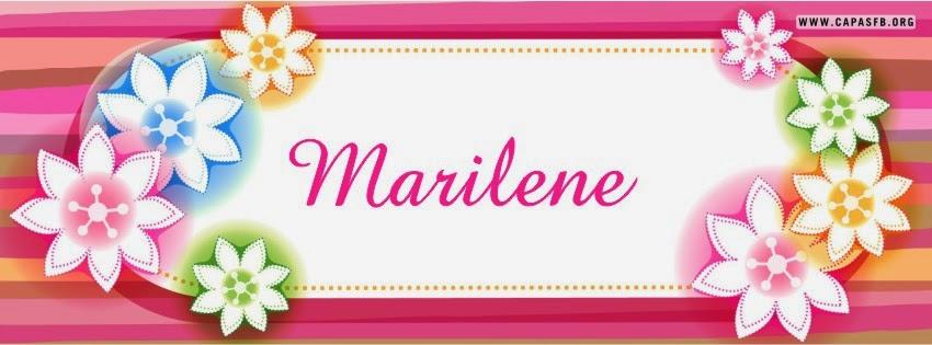 Capas para Facebook Marilene
