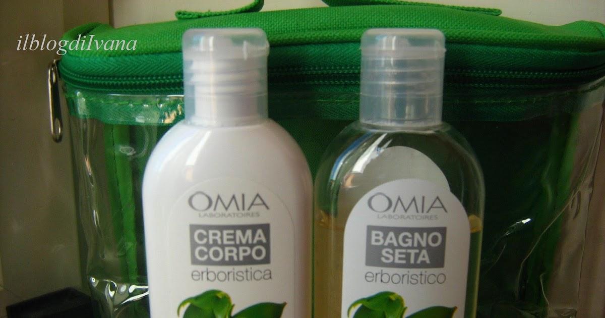 Il blog di ivana omia bagnodoccia e crema corpo - Omia bagno seta olio di jojoba inci ...