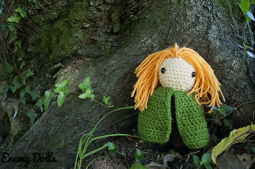 Kvtohe amigurumi, el nombre del viento the name of the wind