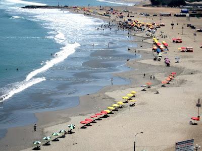 Beach in Lima Peru