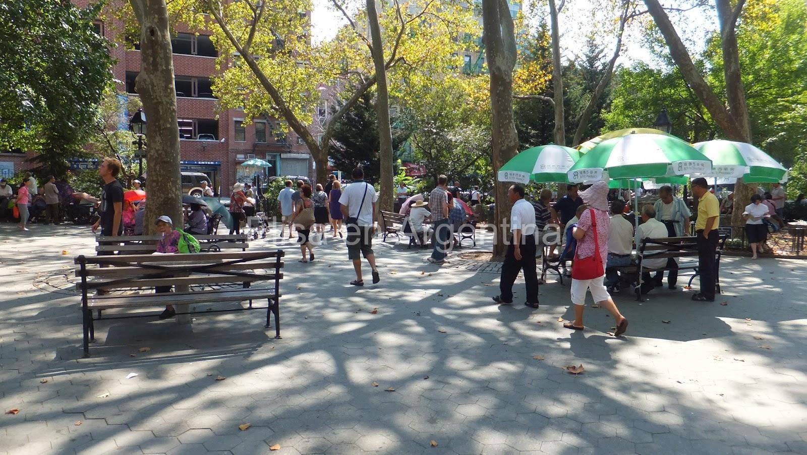 Columbus Park, Chinatown, Little Italy, Manhattan