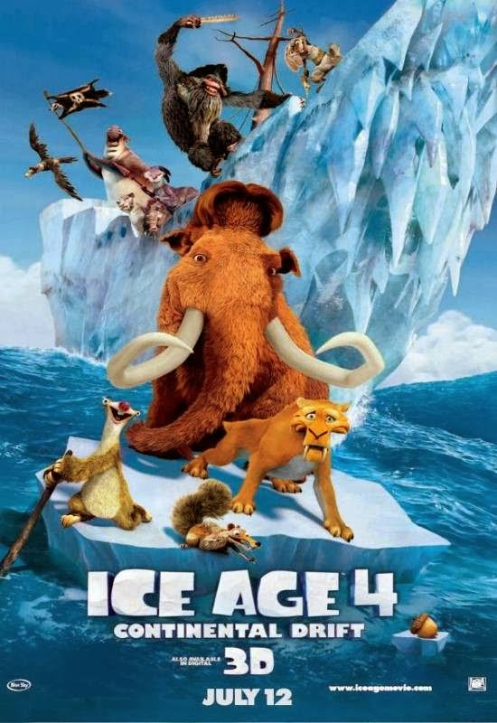 Poster Of Ice Age 4: Continental Drift (2012) Full Movie Hindi Dubbed Free Download Watch Online At Alldownloads4u.Com