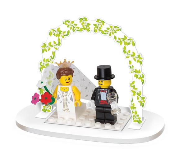 LEGO 853340 Minifigure Wedding Favor Set