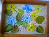 Obʺyemnyye tsvety na kartine