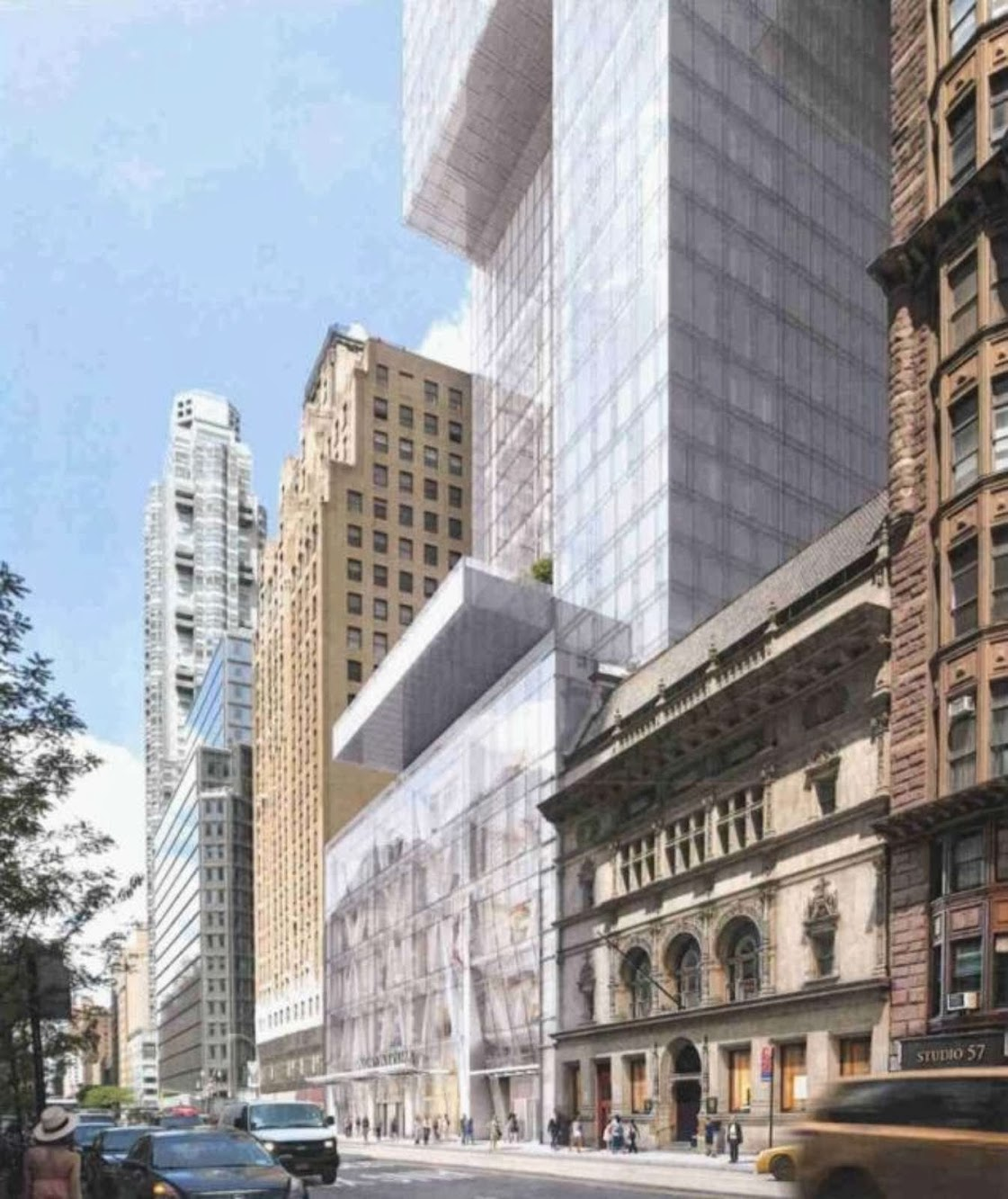 New York, Stati Uniti: 215 West 57Th Street by Adrian Smith + Gordon Gill Architecture