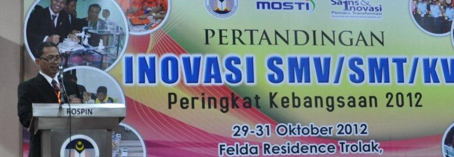 Rumusan sebagai Ketua Panel Hakim KIK SMV/SMT/KV Peringkat Kebangsaan 2012