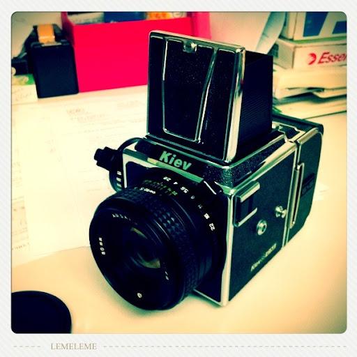 KIEV 88 CM +ASRAT 80mm f2.8+ LOMO 100