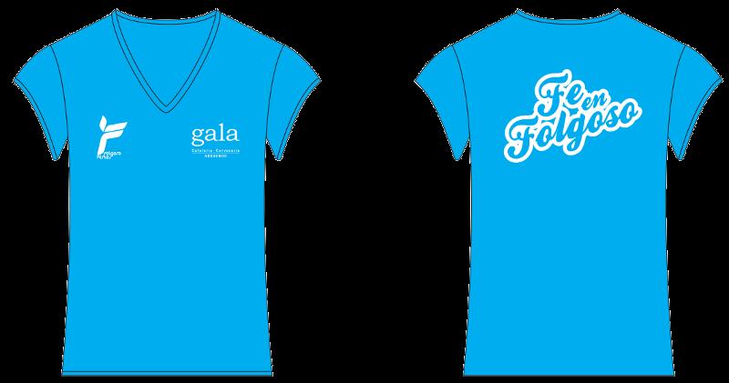 Camisetas chica Festas f