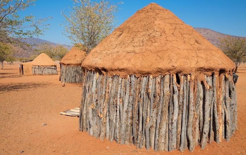 Namibia Himba Huts