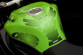 Kawasaki Ninja ZX-6R Performance Edition tank protector