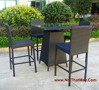 Outdoor Wicker Bar Set Minh Thy 820