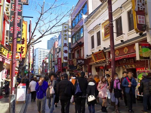 中華街のメイン通り