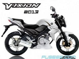 Harga Yamaha Vixion 2013 Terbaru