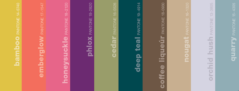 Pantone Colors for Fall 2011