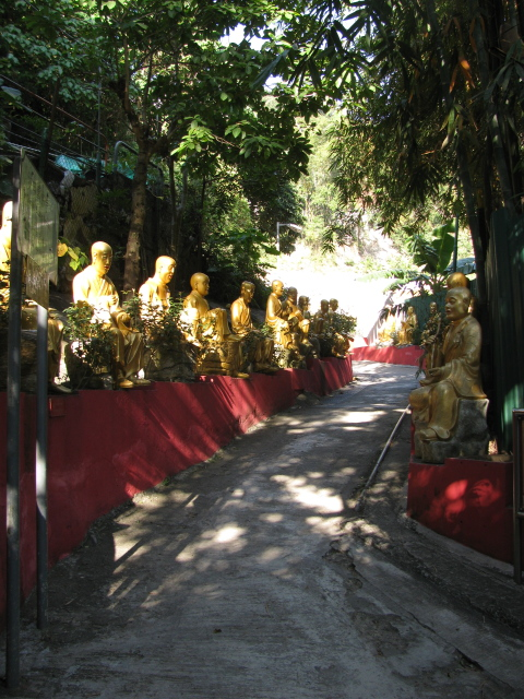 the first few life sized buddhas
