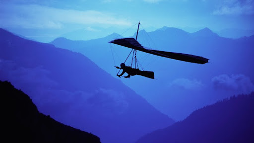 Hang Glider at Dusk.jpg