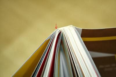 Đóng cuốn dạng Tape Binding (từng tép dán lại)