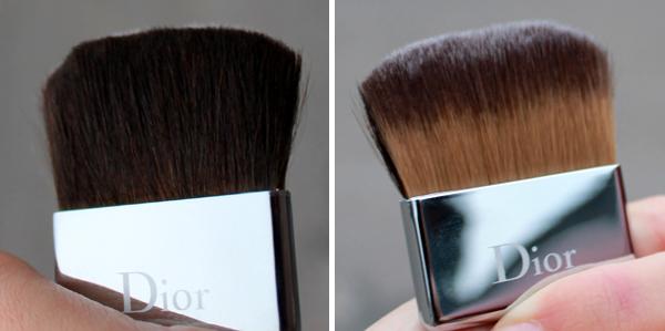 Dior - Diorskin Nude Powder Compact - кисть