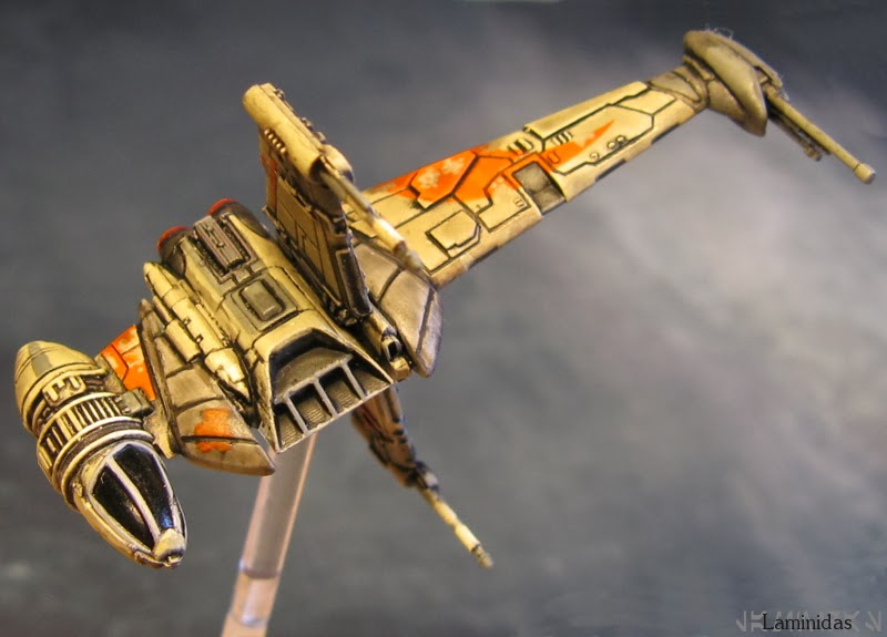 Laminidas' farbige Werften 140228+X-Wing+-+B-Wing+4