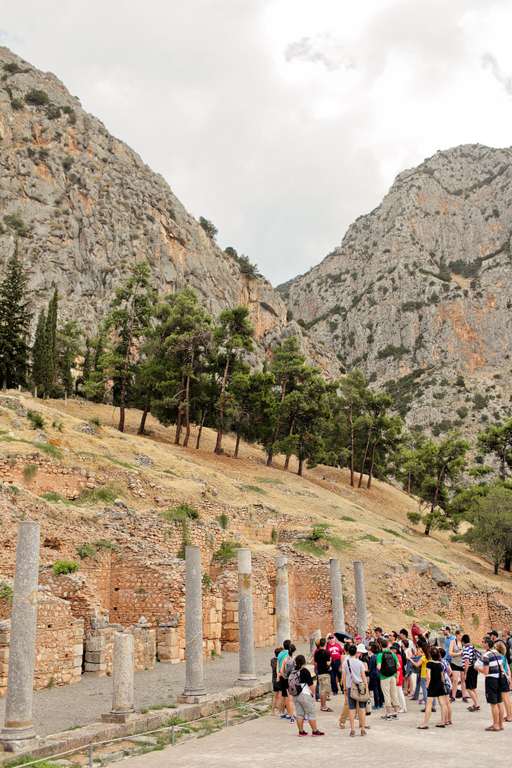 Roman Agora - Delphi Ancient Greece.