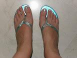 Bonitas y coquetas sandalias en colores