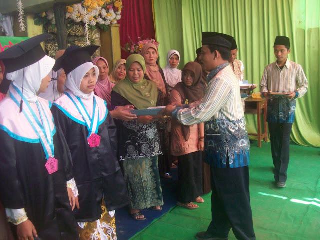 Penghargaan terhadap siswa-siswi berprestasi