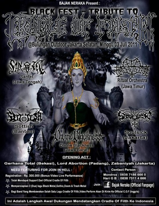 BLACK FEST-TRIBUTE TO CRADLE OF FILTH: