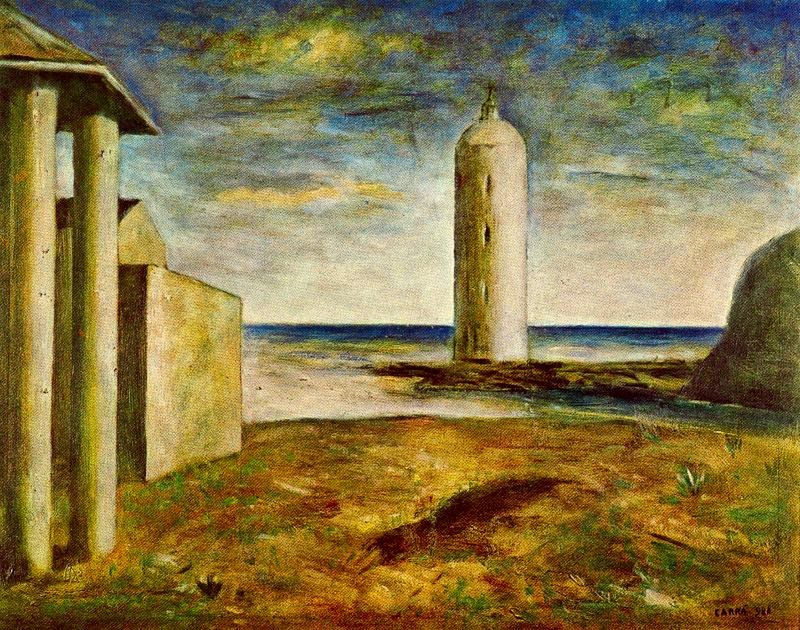 Carlo Carrà - El Faro, 1928